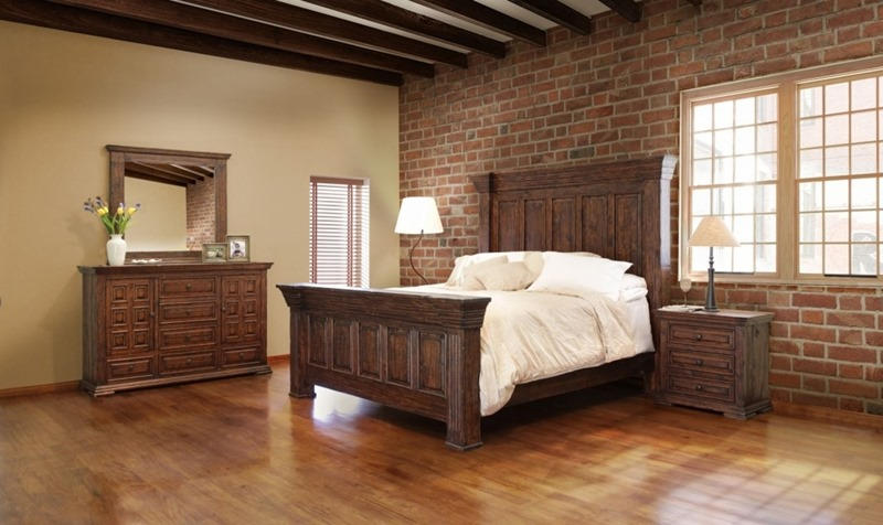 Terra Rustic Bedroom Set