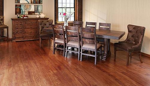 Terra Rustic Dining Room Set