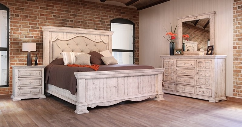 Ifd Furniture 1024 Bella Rustic Bedroom Set Dallas Designer