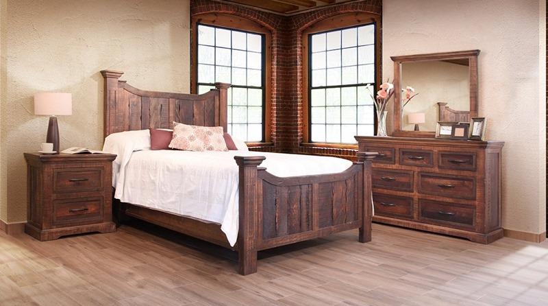 Madeira Rustic Bedroom Set