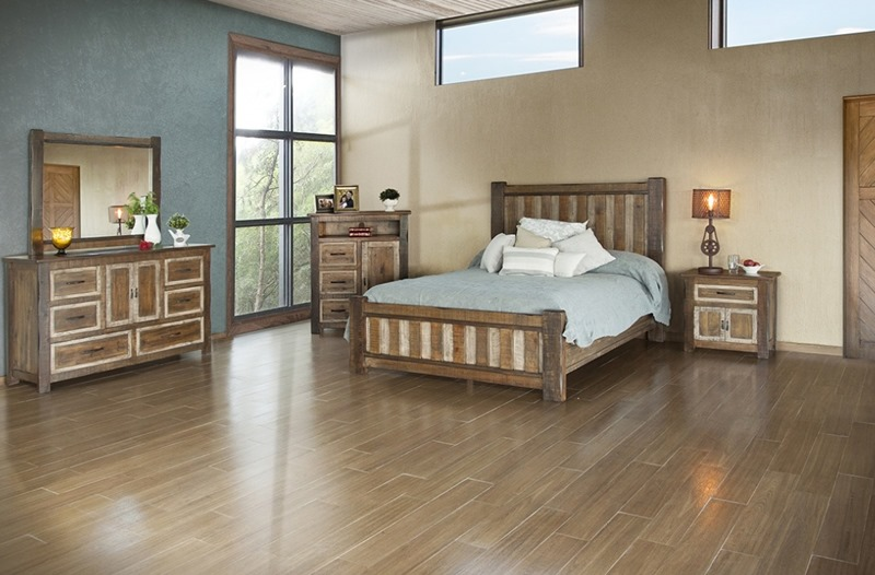 Veracruz Rustic Bedroom Set