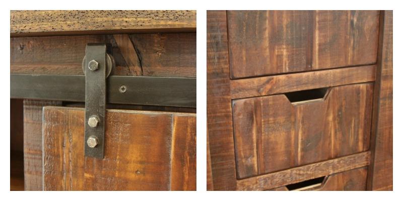 Pueblo Rustic TV Stand