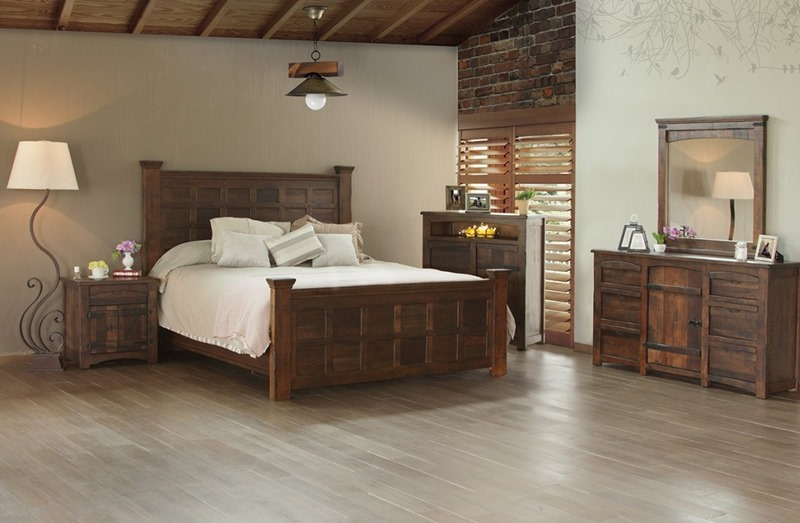 Mezcal Rustic Bedroom Set