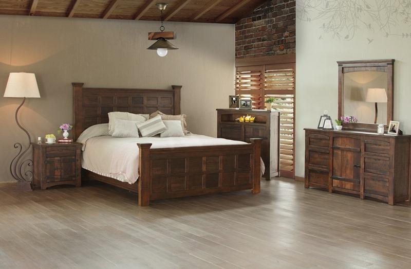 Mezcal Rustic Bedroom Set