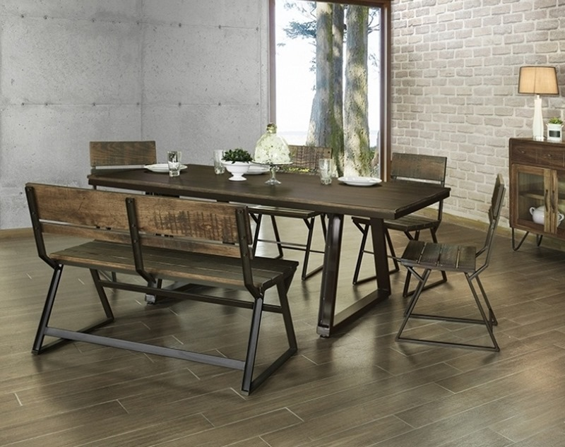IFD Furniture | 567 Mezcal Rustic Dining Room Set | Dallas Designer ...