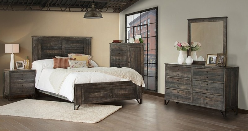 Moro Rustic Bedroom Set