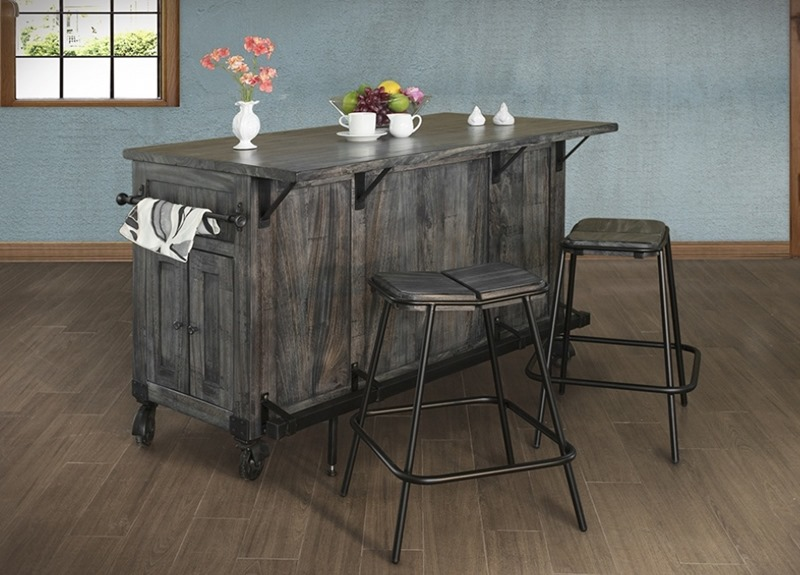 Moro Rustic Kitchen Island