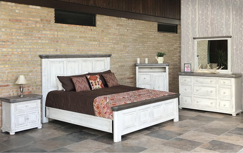 Luna Rustic Bedroom Set