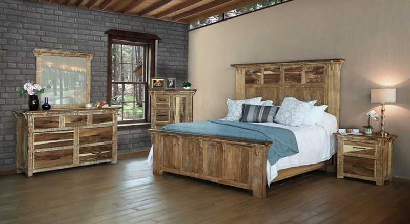 Casablanca Rustic Bedroom Set