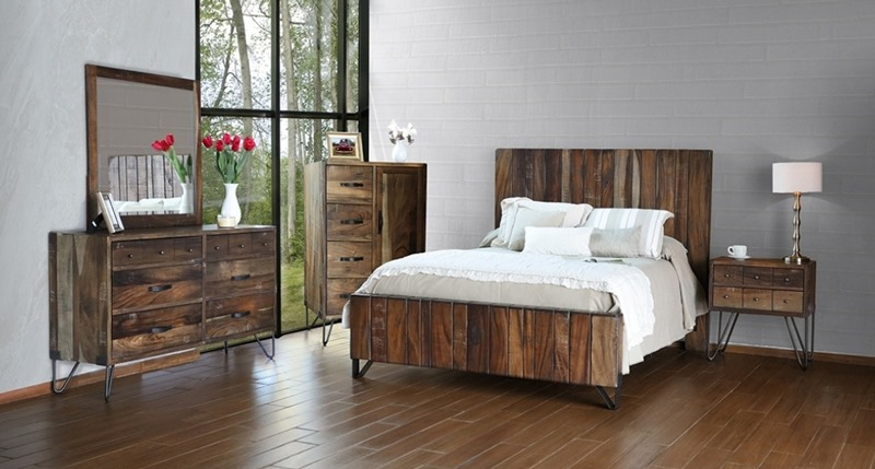 Taos Rustic Bedroom Set