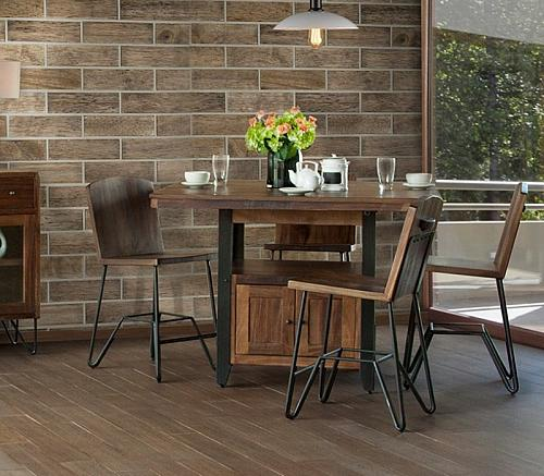 Taos Rustic Counter Height Dining Room Set