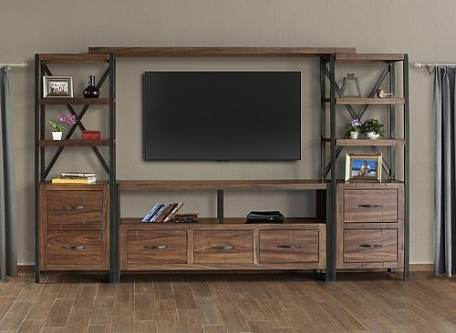 Taos Rustic Entertainment Center