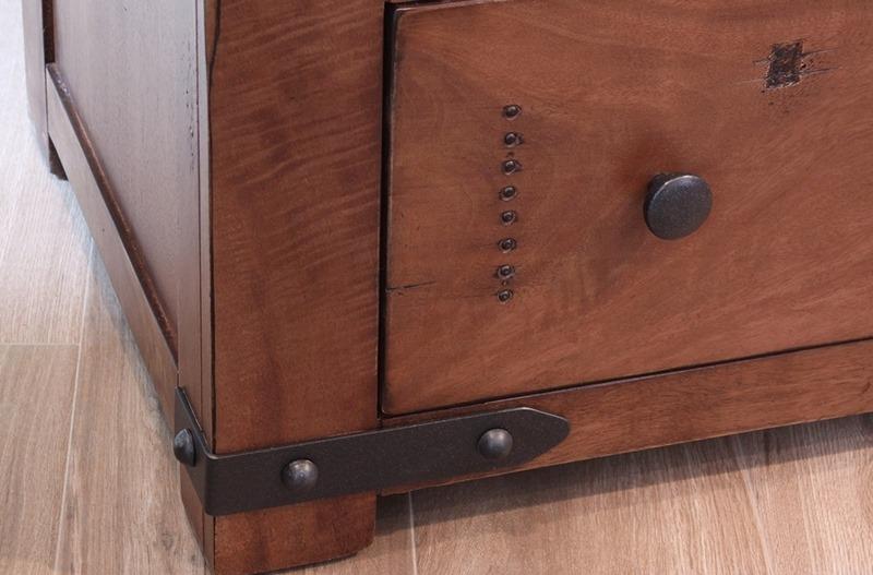 Parota II Rustic Bedroom Set