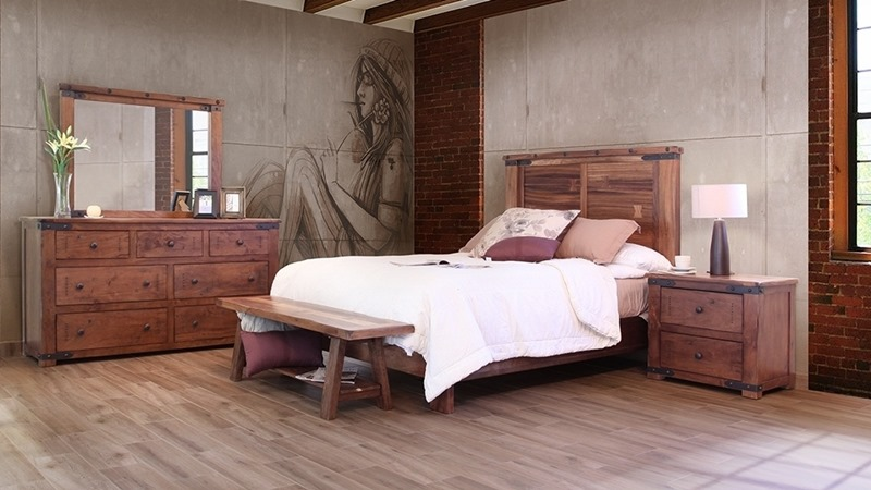 Parota II Rustic Bedroom Set