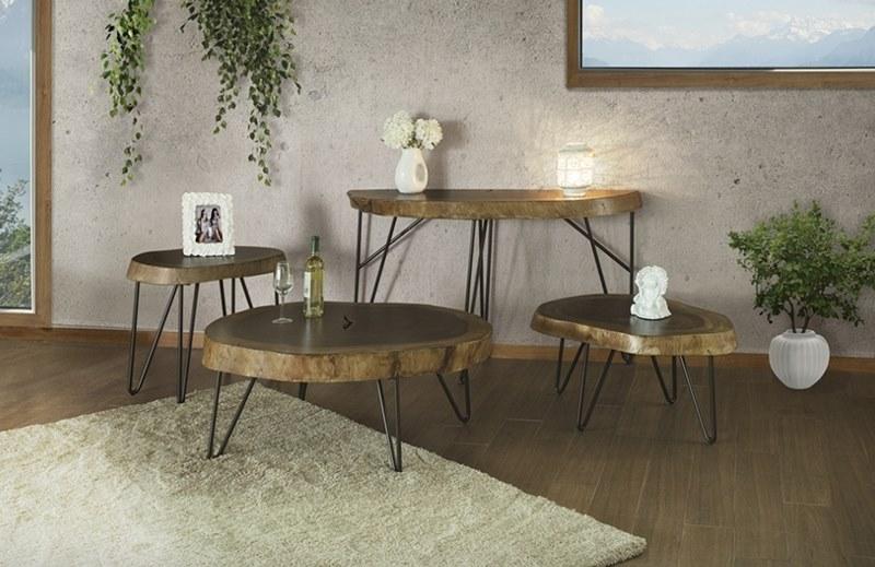 Vivo Rustic Coffee Table Set