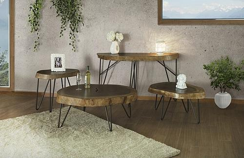 Vivo Rustic Coffee Table Set