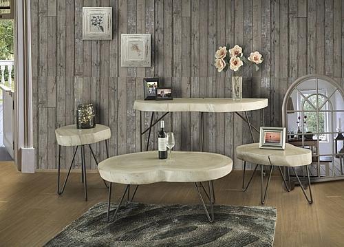 Metro Rustic Coffee Table Set