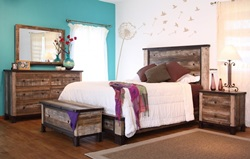 Antique Rustic Bedroom Set
