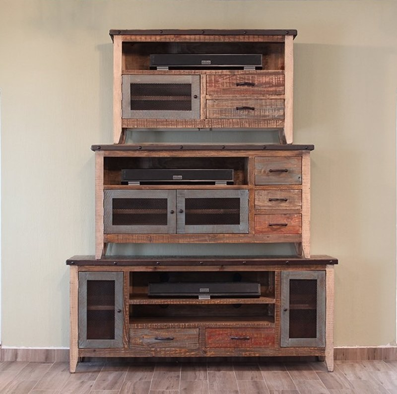 Antique Rustic Tv Stand