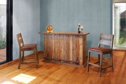 Antique Multicolor Rustic Bar Set
