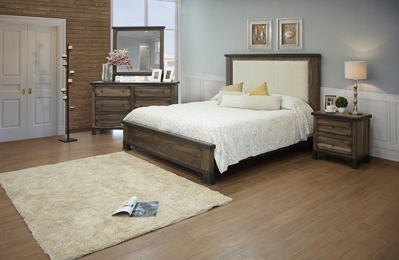Durango Upholstered Bedroom Set
