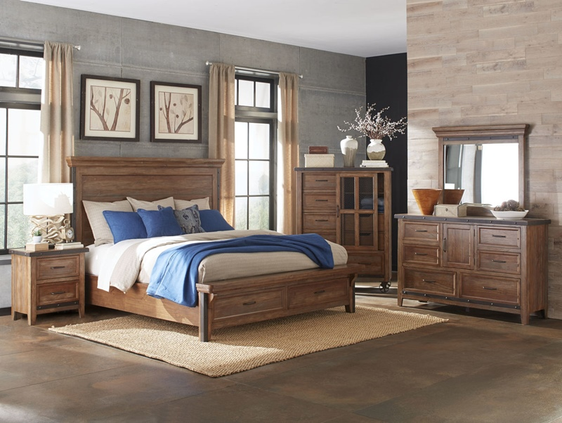 Taos Bedroom Set with Storage