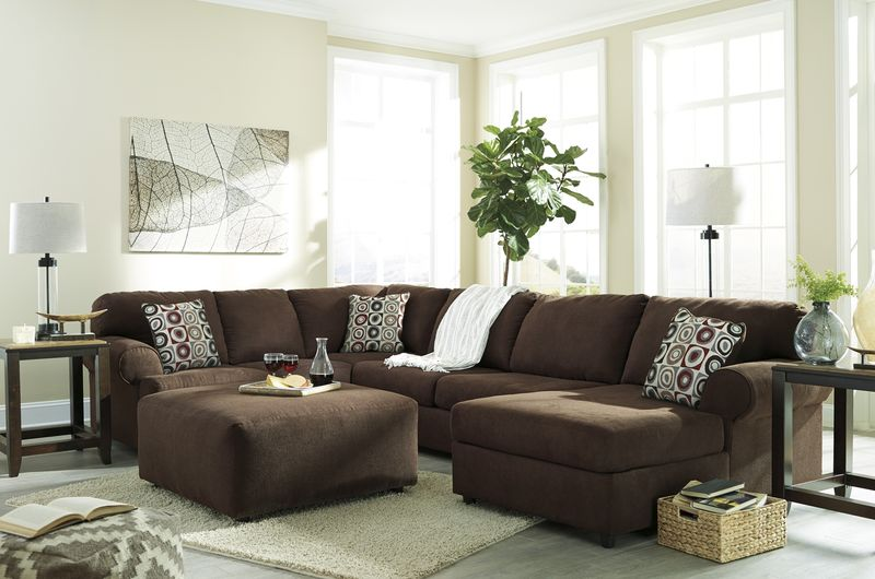 Jayceon Sectional Sofa Set with RAF Chaise
