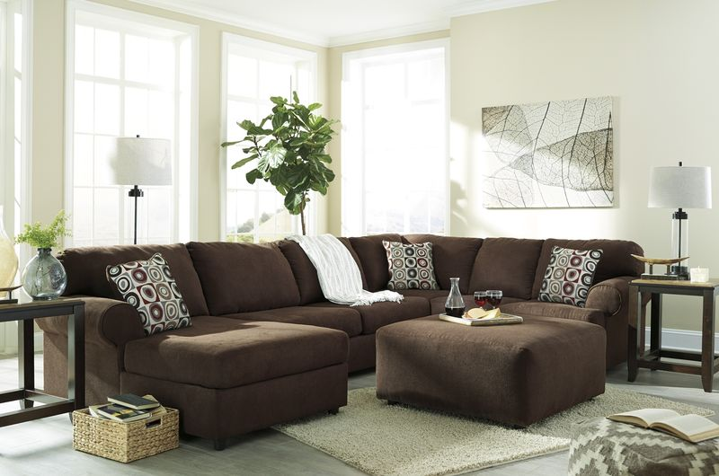 Jayceon Sectional Sofa Set With LAF Chaise