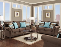 Jitterbug Living Room Set in Cocoa