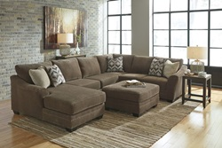 Justyna Sectional Sofa Set with LAF Chaise