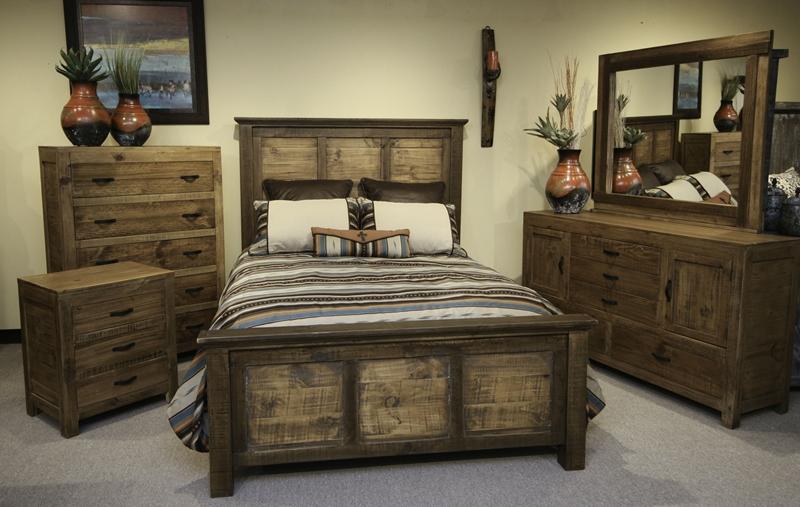 Ashton Rustic Bedroom Set