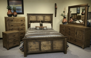 Ashton Rustic Bedroom Set