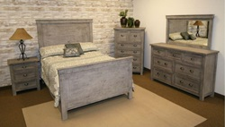 Impressions Rustic Bedroom Set