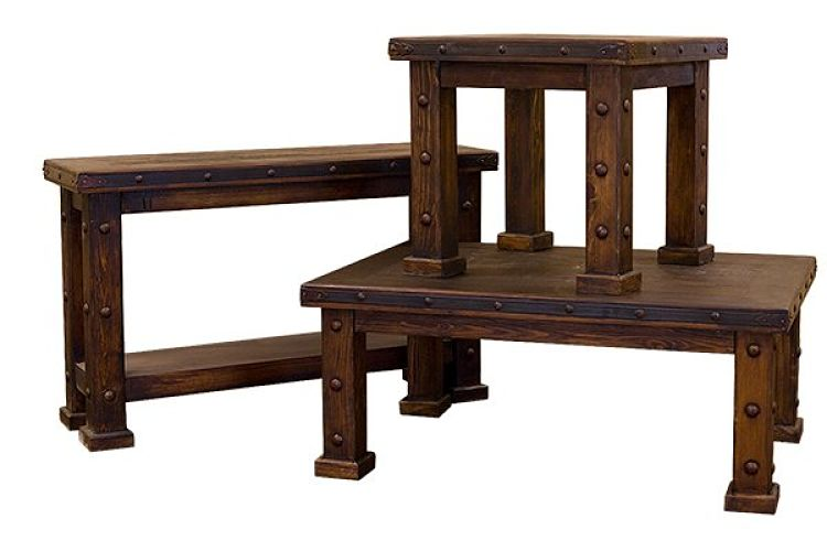 Laguna Rustic Coffee Table Set