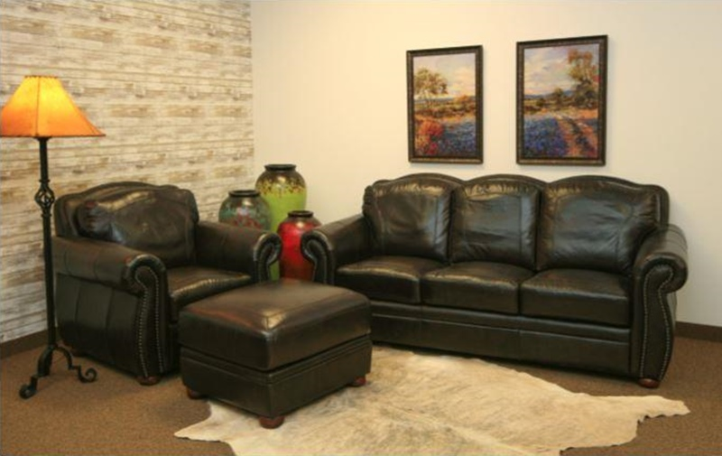 Terraso Leather Living Room Set
