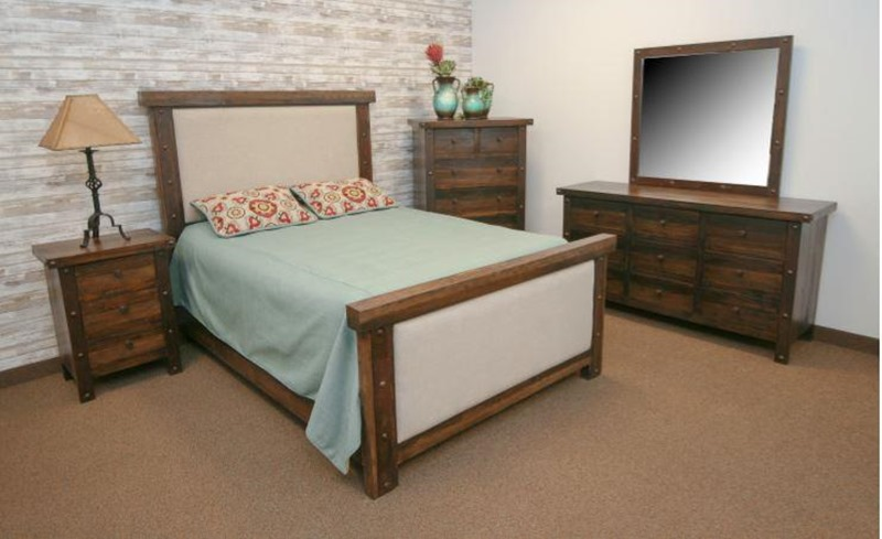 Uptown Rustic Bedroom Set