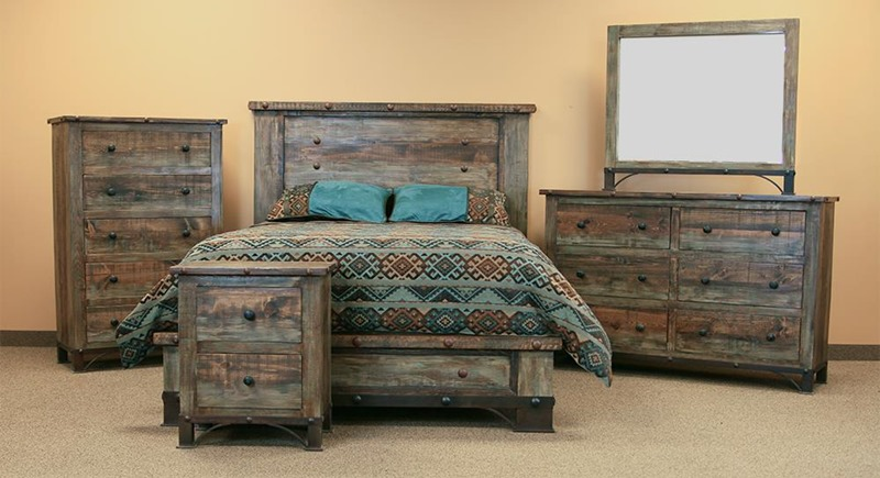 Urban Rustic Bedroom Set