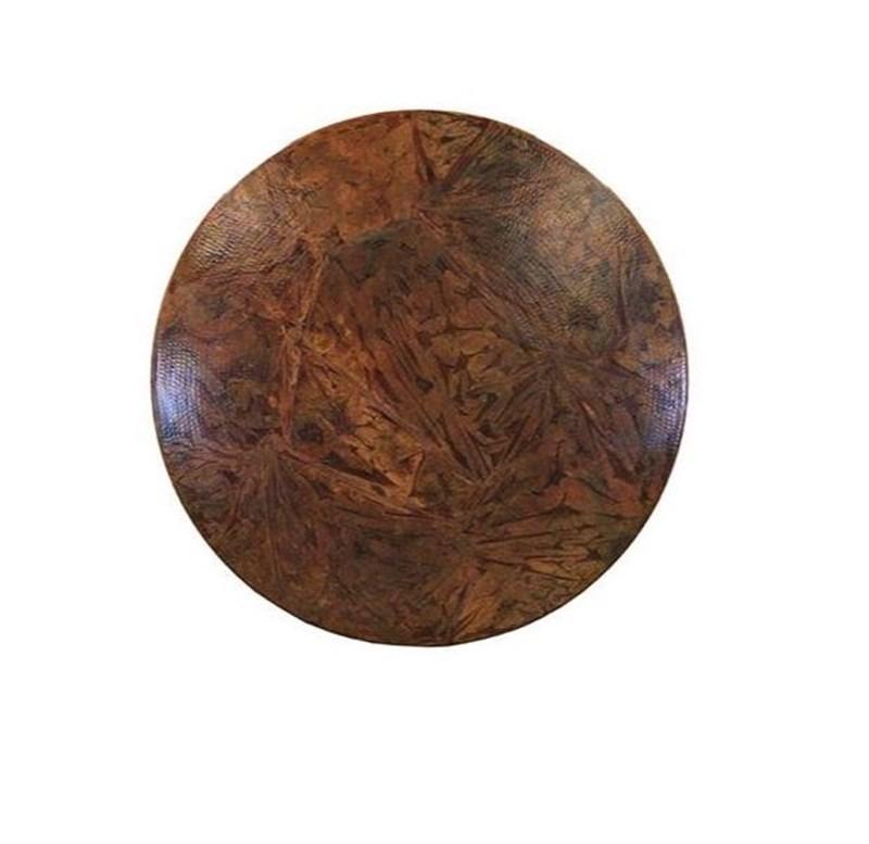 Copper Top Rustic Table Otono