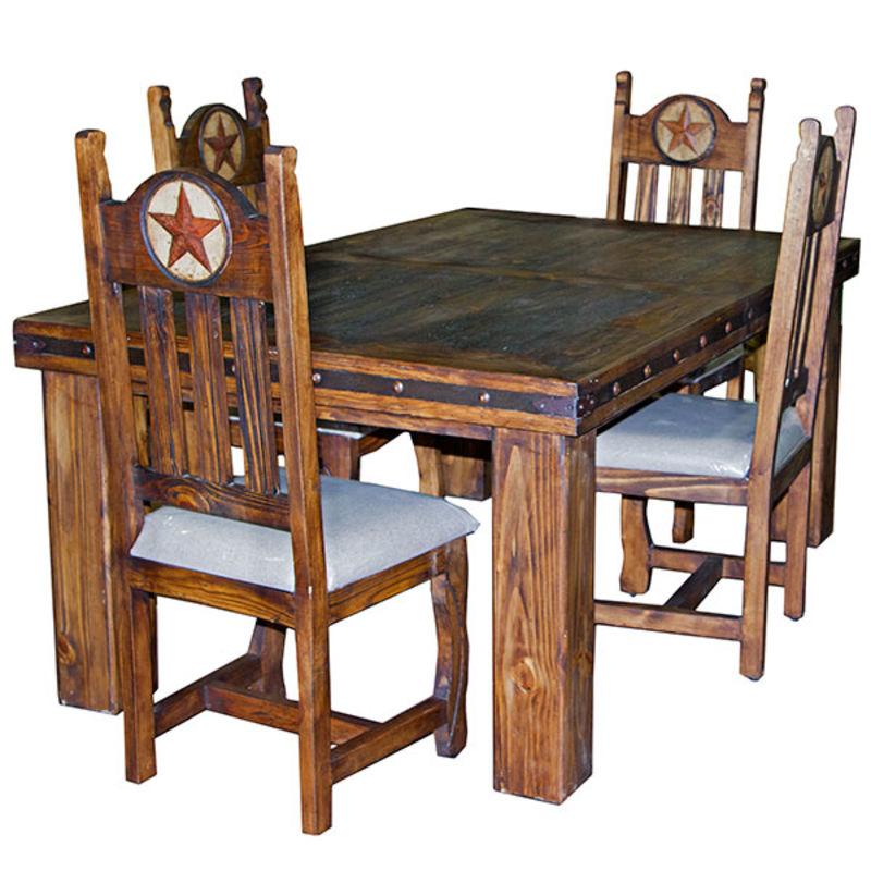 LMT| Laguna Rustic Dining Room Set | Dallas Designer Furniture