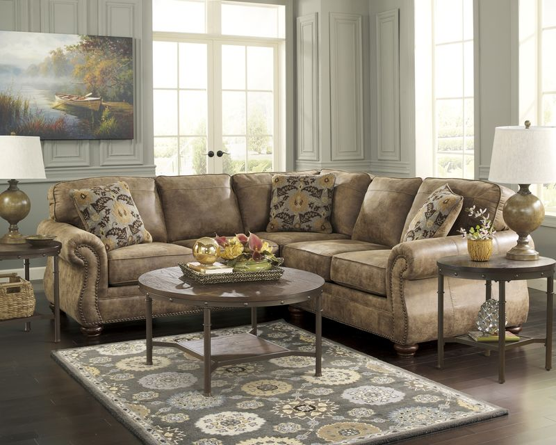Larkinhurst Sectional Sofa Set