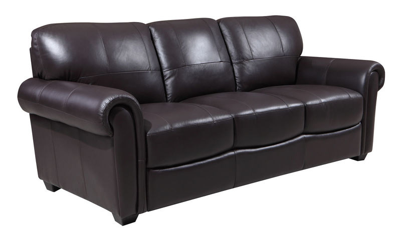 Branson Top Grain Leather Living Room Set