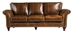 Butler Top Grain Leather Living Room Set
