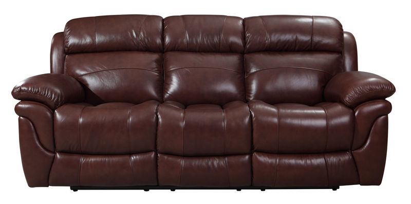 Edinburgh Top Grain Reclining Leather Living Room Set