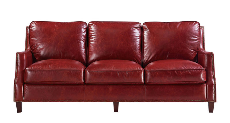 Oakridge Top Grain Leather Living Room Set