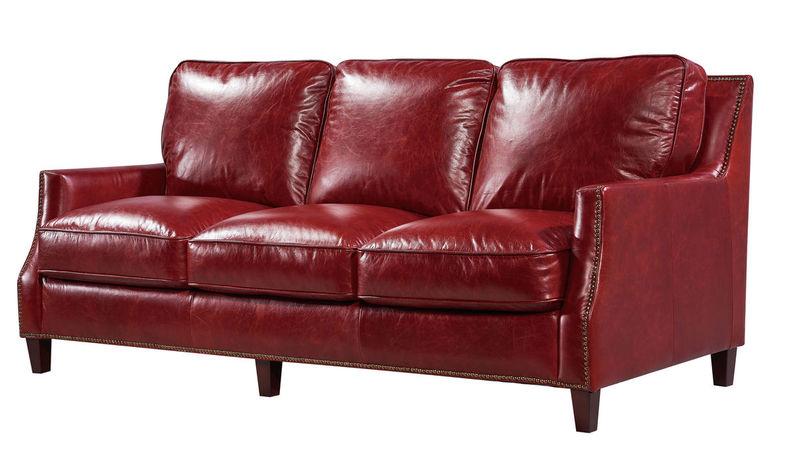 Oakridge Top Grain Leather Living Room Set