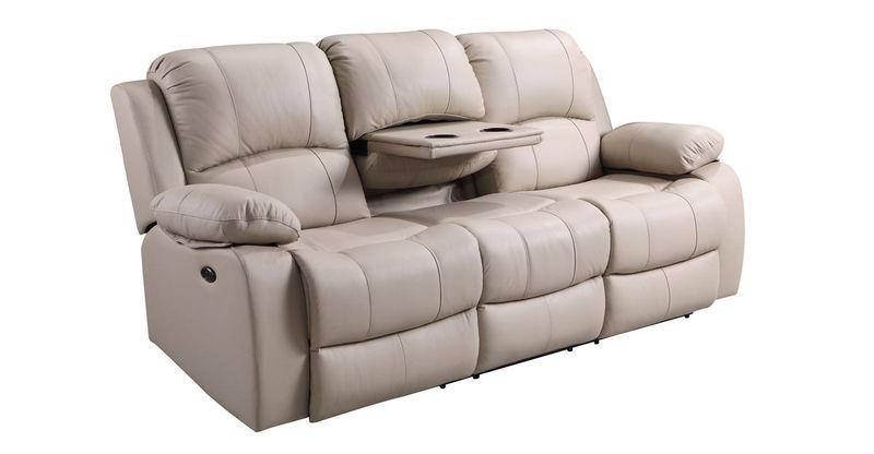 Winnfield Top Grain Leather Reclining Living Room Set