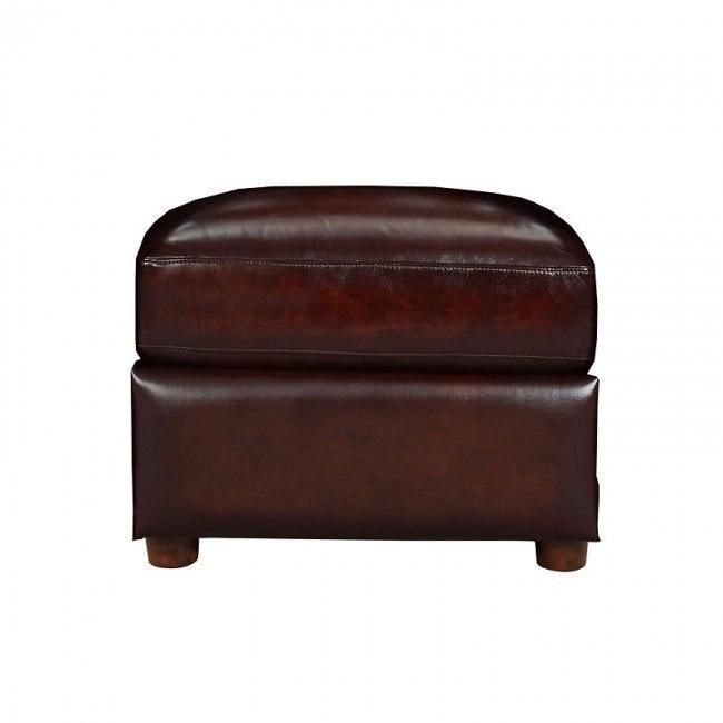 Stockton Brown Leather Living Room Set