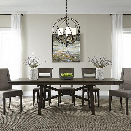 Double Bridge Dining Room Set