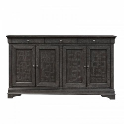Gentry Console Table in Charcoal