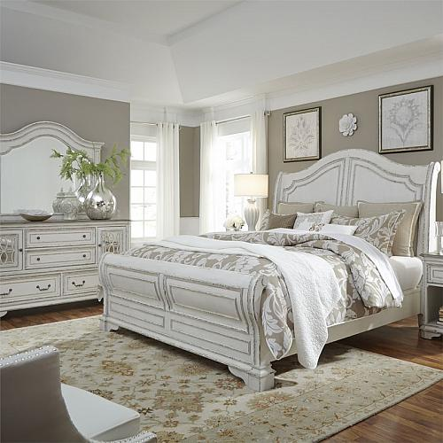 Magnolia Manor Bedroom Set with Sleigh Bed